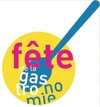 le logo fete de la gastronomie