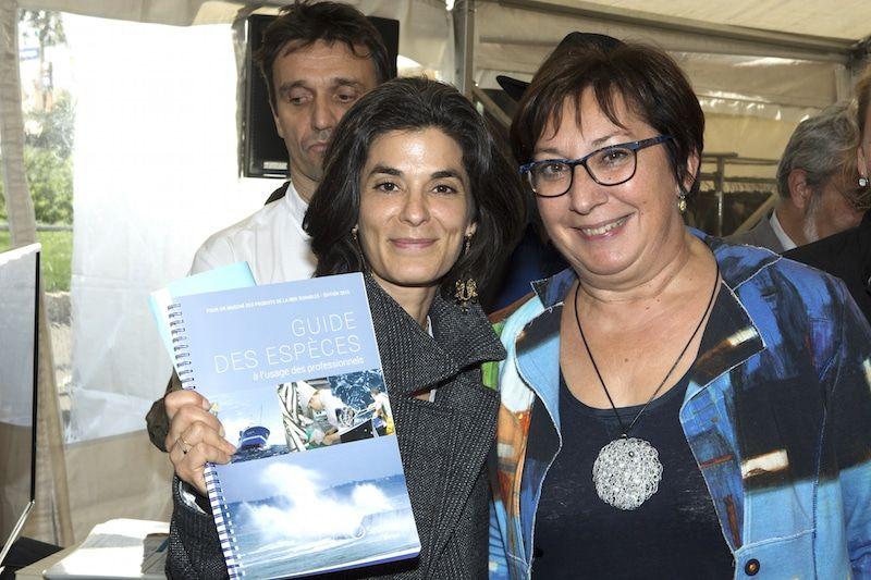 Sur cette photo : François Pasteau, Olivia Polski, Martine Pinville - Cook and Com