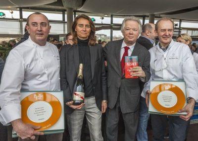 Gilles Pudlowski et ses lauréats