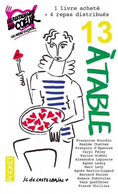13 à table 2016 : un livre acheté = 4 repas achetés