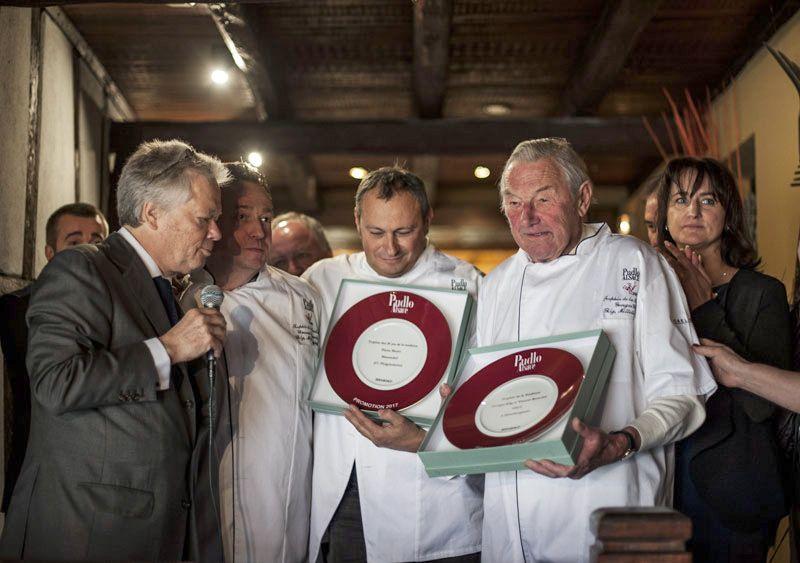 Trophée tradition : Georges Gilg et Vincent Reuschlè et 10 ans tradition Rachel et Pierre Meyer