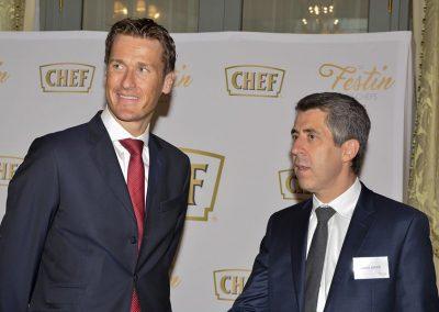 Laurent Azouz et Mr Boyens - (General manager Ritz Paris)