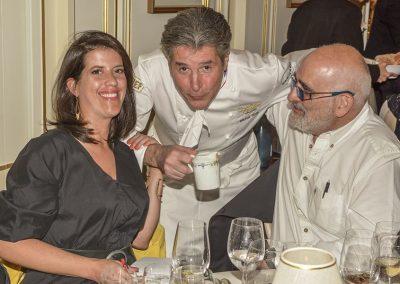 Aurélie Sartres, Michel Roth et Alain Cohen