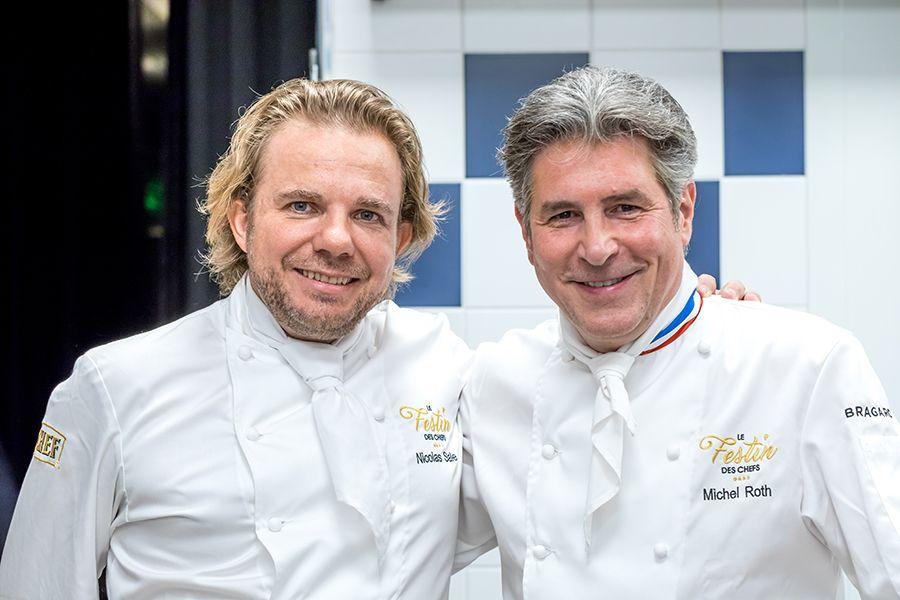 Le Festin des Chefs au Ritz par Nicolas Sale et Michel Roth