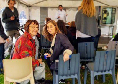 Sonia Dupuis et Camille Allaert