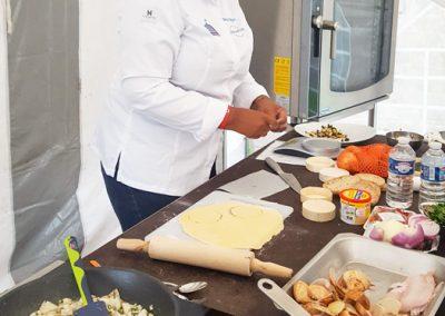 Démonstration culinaire par Beatrice Fabignon