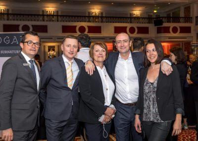 Nicolas et Christophe du Westin, Sonia Dupuis, Fred et Stéphanie Bayard