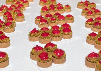 Bonbons cranberrie pistache de Quentin Le Chat