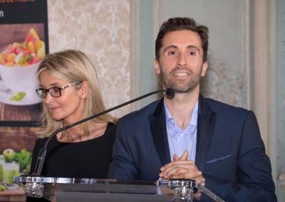 Fred Coehlo, coach-sportif et Ysabelle Levasseur, diététicienne nutritionniste