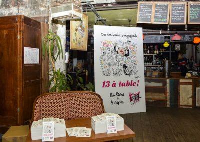 Lancement de 13 à table à la Recyclerie