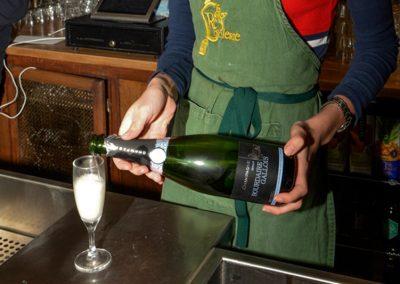 Service du Champagne Bourdaire-