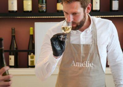 Jeremy, Huitres Amélie à la rencontre des vins d'Alsace
