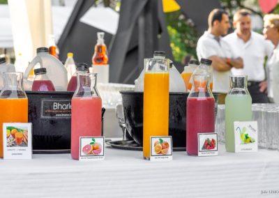 Jus de fruits frais Bharlev