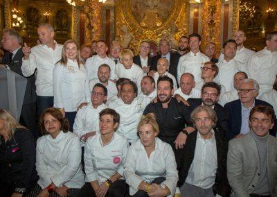 Les chefs des 30 ans du guide gourmand Pudlo Paris 2020