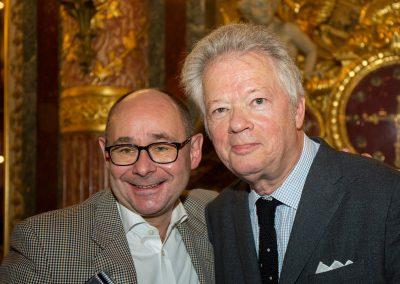 Trophée Staub pour les lauréats avec Gilles Pudlowski