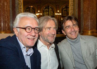 Alain Ducasse, Yannick Alléno et Jean Luc Poujauran