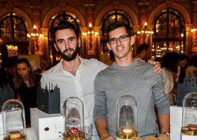Yann Menguy, Trophée du Pâtissier de l'année (Pâtisserie la Goutte d'Or, 18e) en partenariat avec la laiterie Le Gall