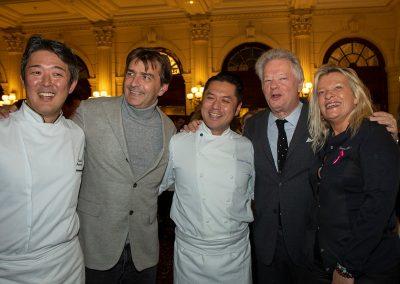 Equipe de l'Abysse, Flora Mikula, Gilles Pudlowski et Yannick Alléno