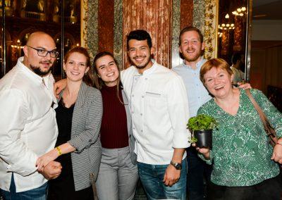 Equipe de l'Hôtel Castille (Restaurant Assaggio, 1e)