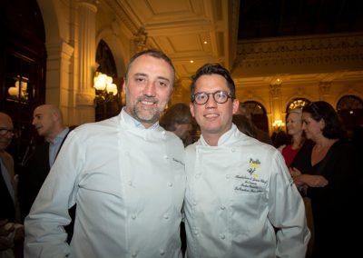 Frédéric Duca (Restaurant Rooster, 17e) et Indra Carillo (La Condesa, 9e)
