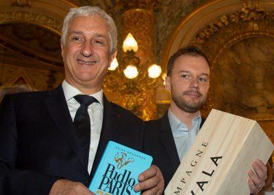 Stéphane Layani et Alexandre Montgermont - Champagne Ayala