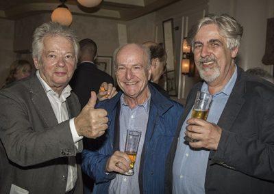 Gilles Pudlowski - Bernard Kuentz (à droite)