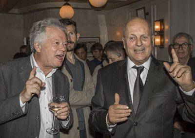 Gilles Pudlowski et Maurice Rougemont