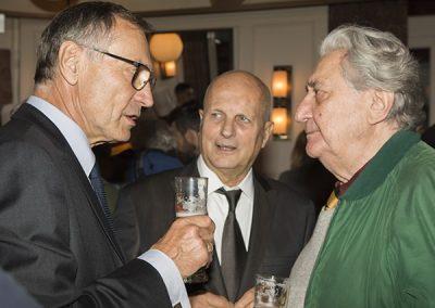 Maurice Rougemont et ses invités