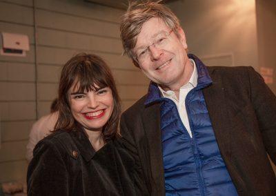 Patricia De Figueirédo et Olivier Le Guay (Délégué général de Culture Papier)