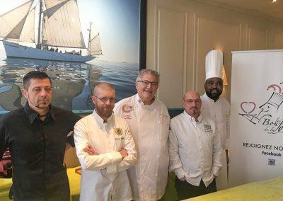Alain Crivelli, Frederic Claquin, Florian Michel, et Vincent Clouzeau