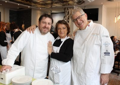 Olivier Bellin, Sonia Dupuis et Alain Crivelli