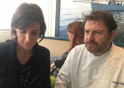 Flora Balcon (Laiterie Le Gall) et Olivier Bellin