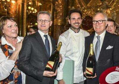 Werner Kuchler, Christophe Michalak, Maitre hotel relais Plaza