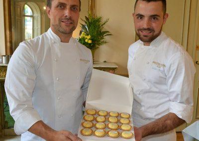 Atelier tarte au citron Sebastien Gaudard et Jerôme Boeuf