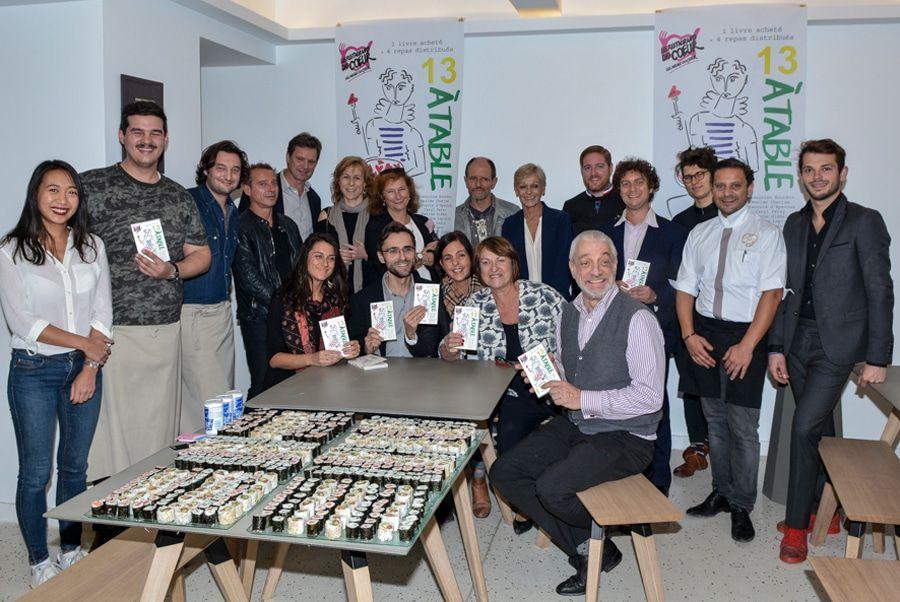 Lancement de l'édition 2016 de«13 à table»