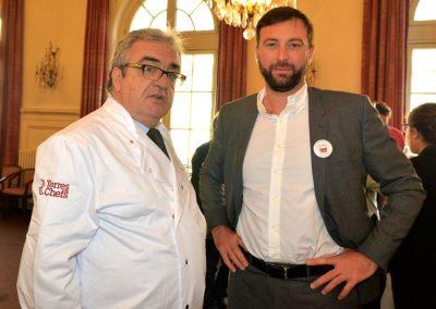 Francis Attrazic et Pascal Nourtier