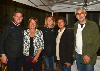 Jonathan Buirette, Sonia Dupuis, Sophie Fernandez, Jérôme Bracco et Pierre Negrevergne