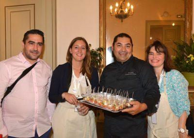Julien Marseault, Camille Allaert, Geaam et Patricia de Figueiredo