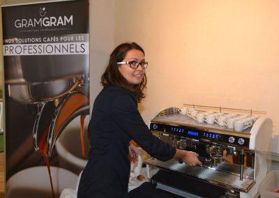 Le bon cafe gram-gram par Leslie Gontard