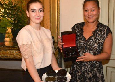 Le caviar ultreia par Veronique Martin