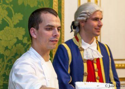Le chef pâtissier Marc Lecomte
