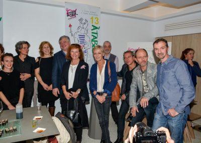 Les auteurs autour de Marie-Chrisitine Conchon, Francois Laurent et Mathieu Wehrung