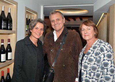 Marie-Christine Conchon (pdg Univers Poche), Jean-Charles de Castelbejac et Sonia Dupuis