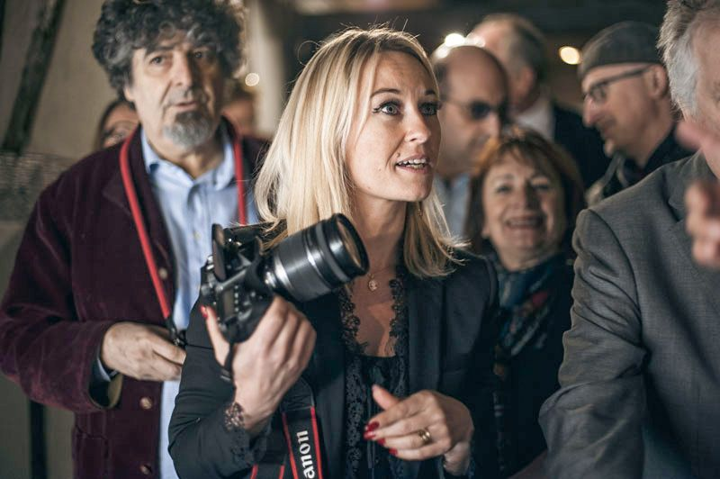 Sandrine Kauffer en action