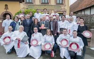 En image : les lauréats du Guide Pudlo Alsace 2017