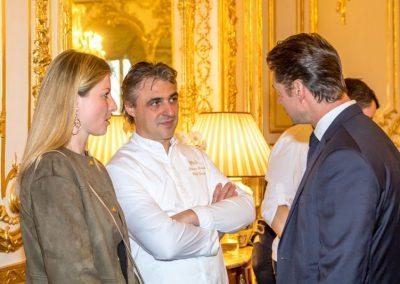 Rebecca Escalant et Jérôme-Banctel : Le Gabriel - La-Reserve-Hotel-Spa - Paris avec Alain Pegouret : Le Laurent