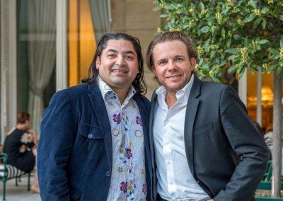 Alan Geaam et Nicolas Sale : chef de l'Espadon - Ritz