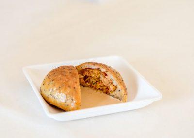 Petit pain de homard Emulsion cardinal de Jérôme Banctel