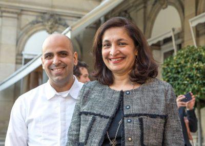 Raphaël Rego et Uzra Zeya Chargée d'affaires - Ambassade des Etats-Unis