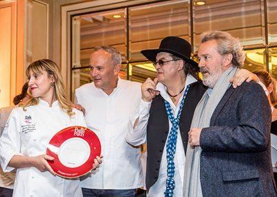 Alexia Santini, Christian Le Squer, Marc Veyrat, Alain Passard